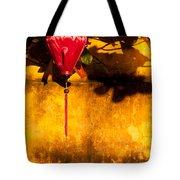 Ochre Wall Silk Lantern 03  Tote Bag