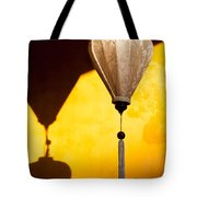 Ochre Wall Silk Lanterns  Tote Bag