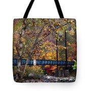 Ocoee River Bridge Tote Bag by Debra and Dave Vanderlaan