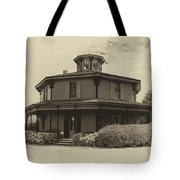 Octagon House  17739b Tote Bag