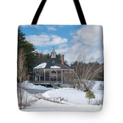 Octagon House Tote Bag