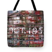October 1955 Water Ttank Tote Bag