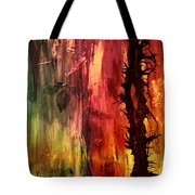 October Abstract Tote Bag