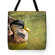 October Duck Tote Bag