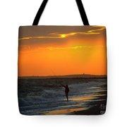 October Fishing Tote Bag
