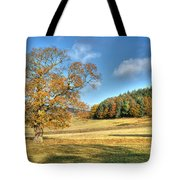 October Gold Tote Bag