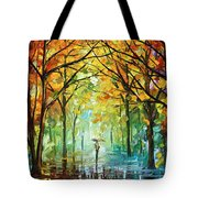 October In The Forest Tote Bag by Leonid Afremov