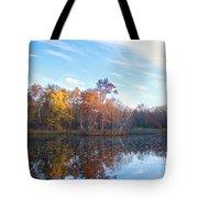 October Pond View Tote Bag
