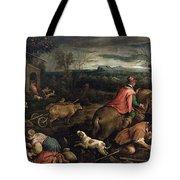 October. Scorpio Tote Bag