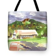 October Shadows At Fort Davidson Tote Bag