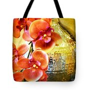 October's Orchids Tote Bag