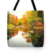 Octobers Paintbrush Tote Bag