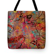 Octopus Illistration Tote Bag