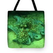 Octopus In The Sand Tote Bag