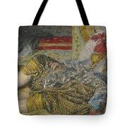 Odalisque Tote Bag by Pierre Auguste Renoir