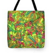 Odd Birds Of Paradise Tote Bag