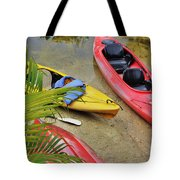 Odd Boat Out Tote Bag
