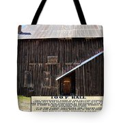 Odd Fellows Historical Building Tote Bag