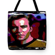 Ode To Star Trek Tote Bag by John Malone