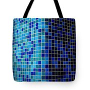 Ode To Steve S.   Corner In Blue Tote Bag