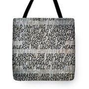 Ode To Un Tote Bag