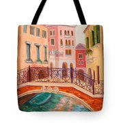 Ode To Venice Tote Bag