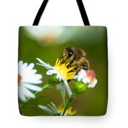 Of Bee And Flower Tote Bag
