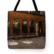 Of Courtyards And Elegant Arches  Tote Bag