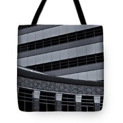 Of Lines And Curves  Mono Tote Bag
