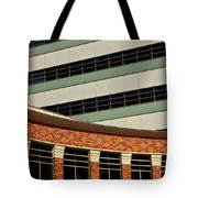 Of Lines And Curves Tote Bag