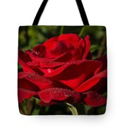 Of Red Roses And Diamonds  Tote Bag