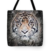 Of Tigers And Stone Tote Bag