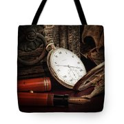 Of Times Gone By Tote Bag by Tom Mc Nemar