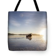 Off Road Uyuni Salt Flat Tour Tote Bag