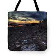 Off Season Sunset Tote Bag