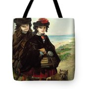 Off To School, 1860 Tote Bag