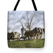 Off To The Field Tote Bag