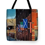 Off To The Tilted Kilt Tote Bag