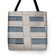 Office Building Windows Tote Bag
