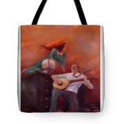 Office Romance Tote Bag
