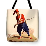 Officer Of European Infantry Of Ottoman Tote Bag by Thomas Charles Wageman