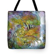 Offspring Of Tiamat - The Fomorii Union Tote Bag by Otto Rapp