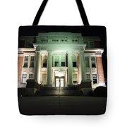 Oglebay Hall At Night Tote Bag