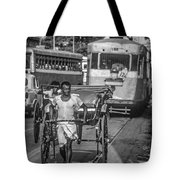 Oh Calcutta Monochrome Tote Bag