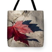 Oh Canada Maple Leaf Tote Bag