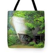Oh Captain My Captain Tote Bag