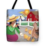Oh Chick Tote Bag