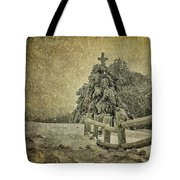 Oh Christmas Tree In Snow Tote Bag
