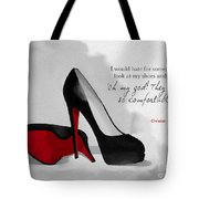 Oh My God Louboutin Tote Bag