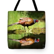 Oh My What A Handsome Pheasant Tote Bag